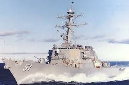 The Future Uss Rafael Peralta Ddg 115 Sets Sail For The First Time