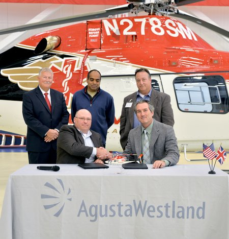 AW1192 Summit Air Ambulance Delivery Ceremony