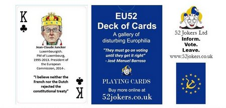 26 Juncker, King of Clubs