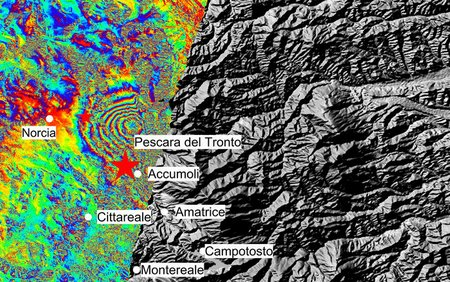Italy earthquake displacement node full image 2